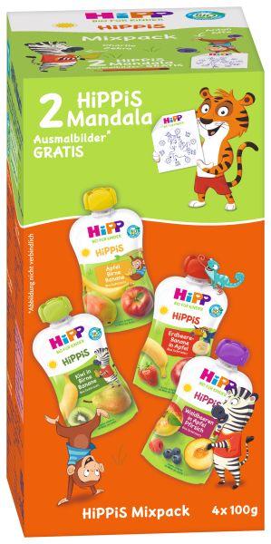 BIO HIPP Hippis Mixpack 4X100G