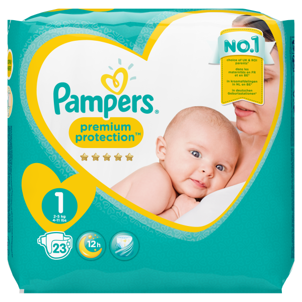 Pampers New Baby, 23er