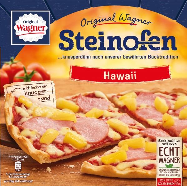 Original Wagner Steinofen Pizza Hawaii, 380g