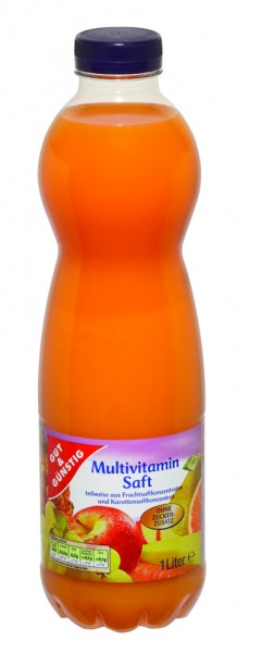 Gut & Günstig Multivitamin Saft, 1 Liter
