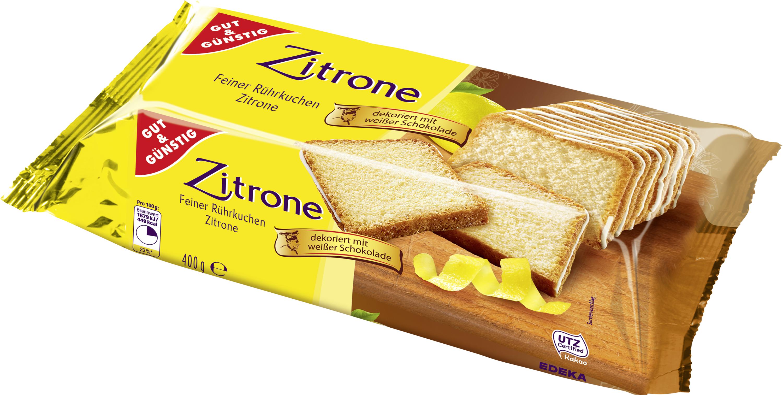 Gut Gunstig Zitronen Kuchen 400g Kuchen Backwaren