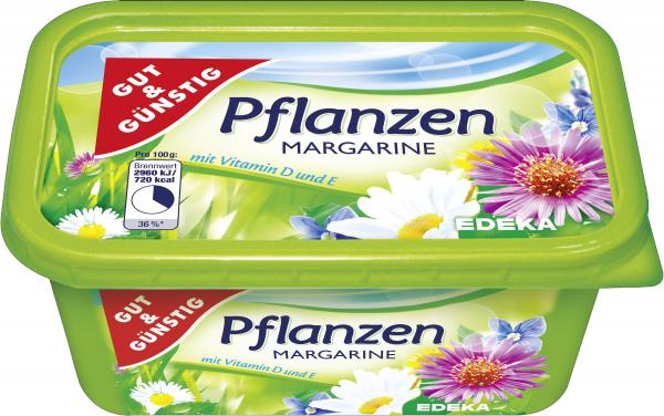 GUT&GÜNSTIG Pflanzen Margarine 500g