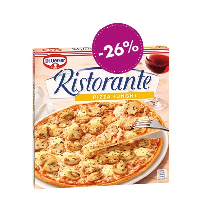 Dr. Oetker Ristorante Pizza Funghi, 365g