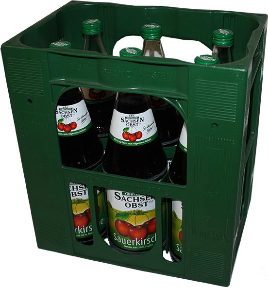 sachsenobst sauerkirschnektar 6x1 liter s fte alkoholfreie getr nke getr nke alle. Black Bedroom Furniture Sets. Home Design Ideas