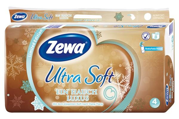 ZEWA Ultra Soft 4-lagig 8x150 Blatt