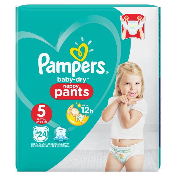 Pampers Baby Dry Pants 5 Junior, 20er