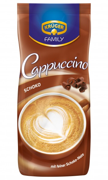 kr ger family cappuccino schoko 500g kaffee cappucchino kaffee tee kakao. Black Bedroom Furniture Sets. Home Design Ideas