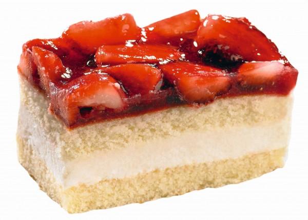 Erdbeer Buttermilch Schnitte
