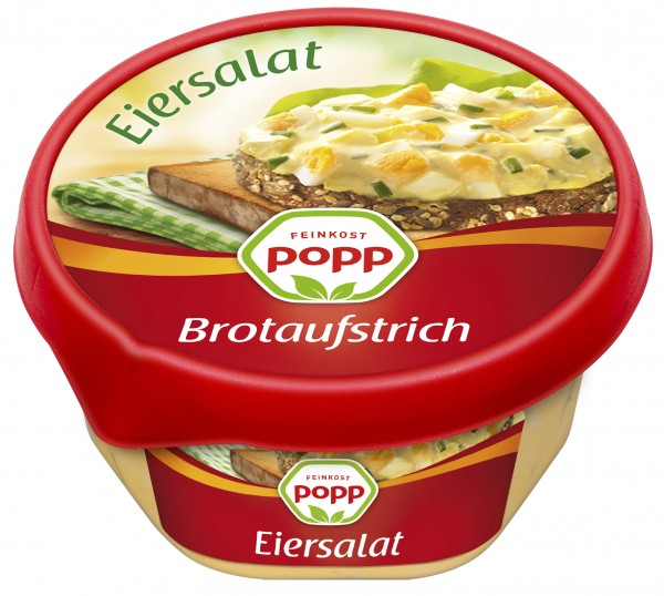 Popp Brotaufstrich Eiersalat, 150g