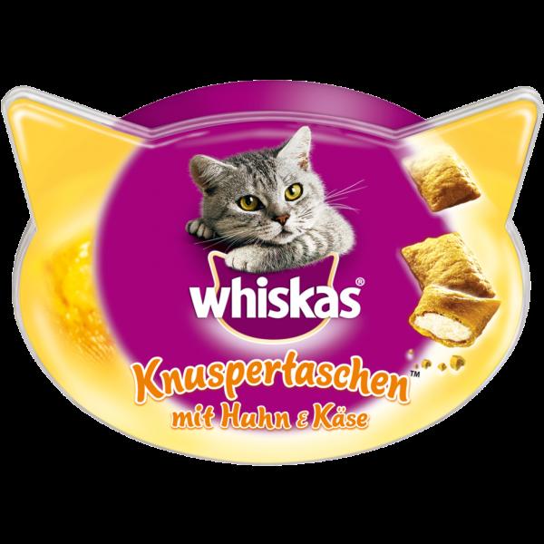 Whiskas Knuspertaschen mit Huhn und Käse, 60g