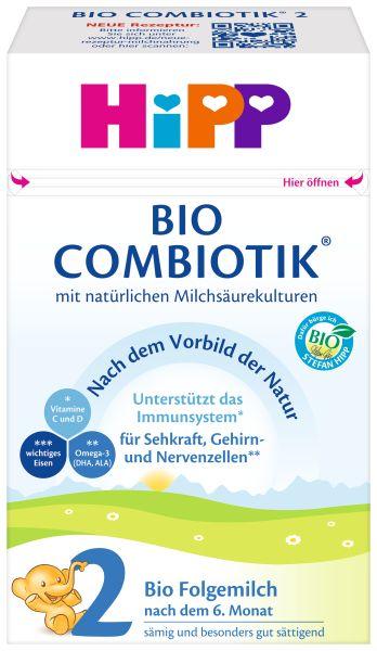 BIO HIPP 2 COMBIOTIK Folgemilch 600g