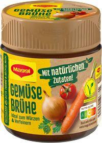 Maggi Gemüse Brühe für 7 Liter 119g