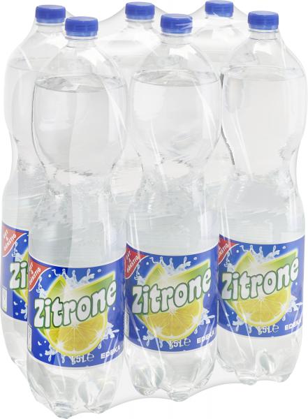 Gut & Günstig Zitronenlimonade, 6x1,5L