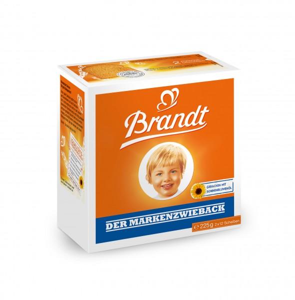 Brandt Zwieback, 225g