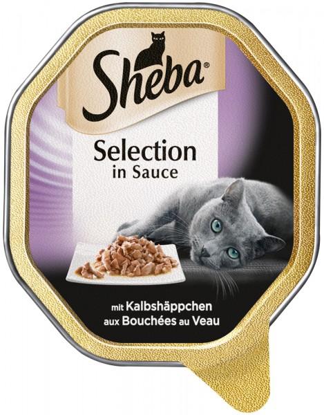 Sheba Selection in Sauce Kalbshäppchen, 85g