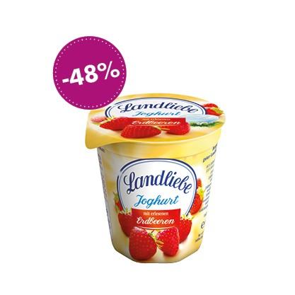 Landliebe Joghurt Erdbeere, 150g