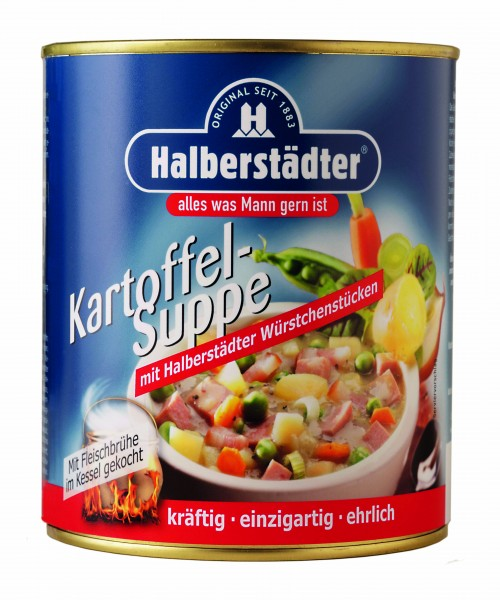 Halberstädter Kartoffelsuppe, 800ml