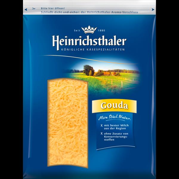 Heinrichthaler Gouda Reibekäse 48% 200g