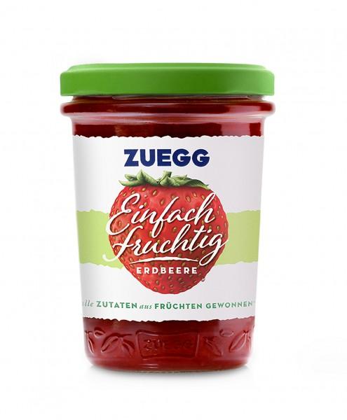 Zuegg Einfach fruchtig Erdbeere, 250g