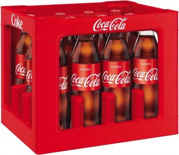 Coca Cola, 12x1L | Erfrischungsgetränke | Alkoholfreie Getränke ...