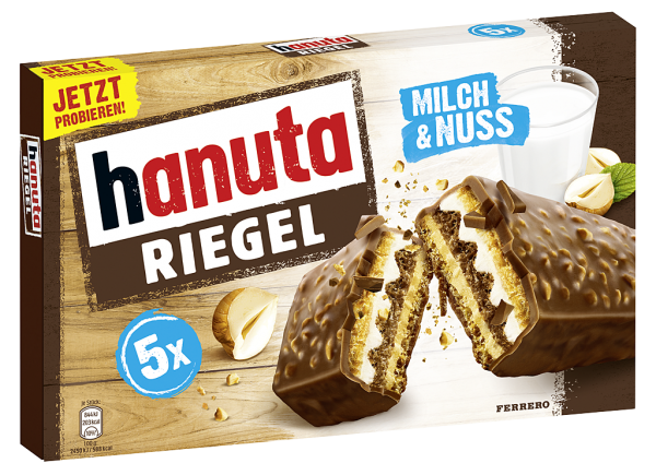 Hanuta Riegel 5er 172,5G