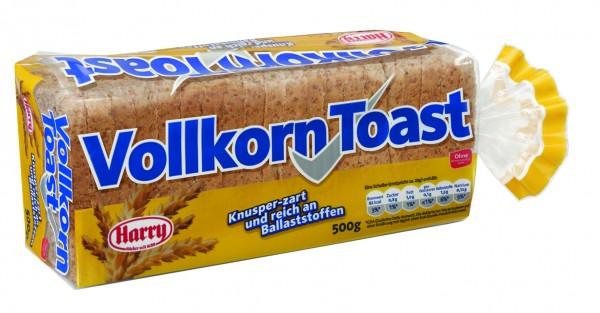 Harry Vollkorn Toast, 500g