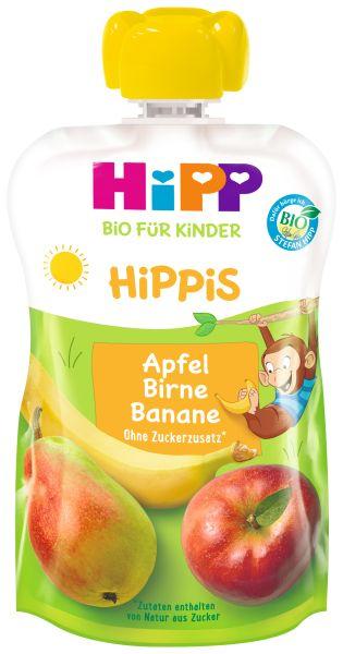 BIO HIPP HIPPIS Apfel, Birne, Banane 100G