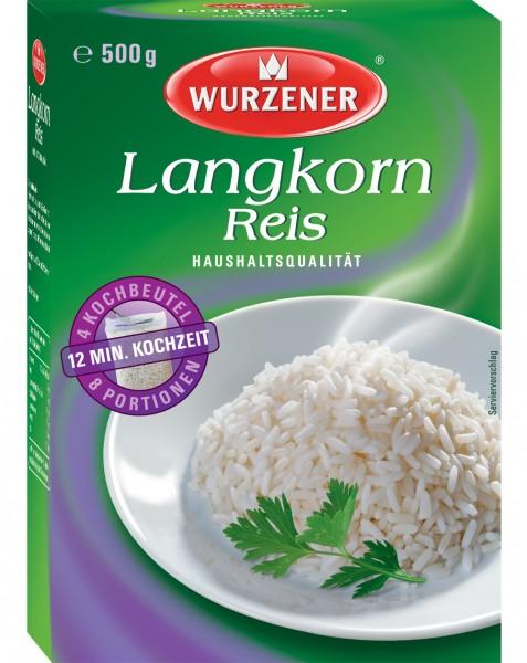 Wurzener Langkorn Reis, 500g
