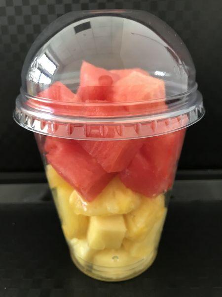 Wassermelone mit Ananas, ca. 200g Becher