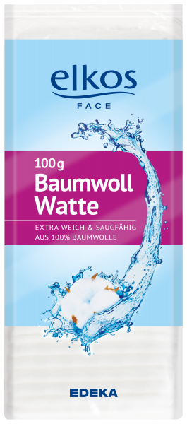 Elkos Baumwollwatte, 100g