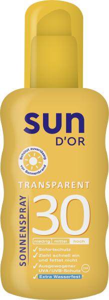 SUN D'OR SONN. SPRAY LSF30 200ML