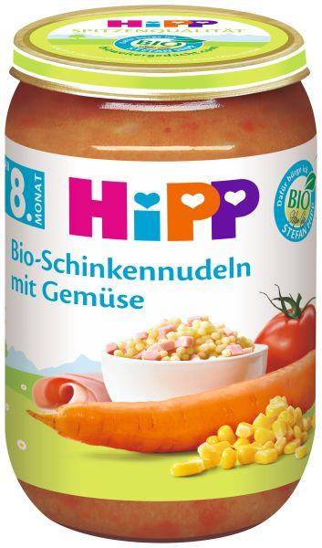 BIO HIPP Schinkennudeln mit Gemüse 220g