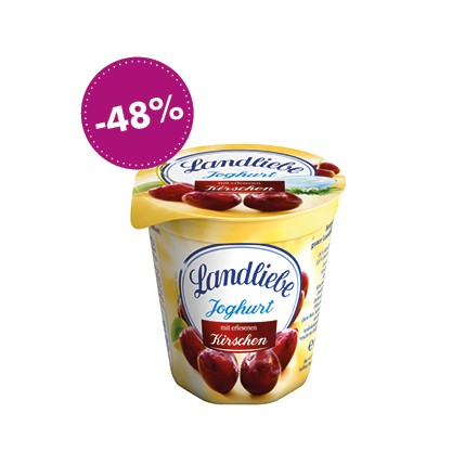 Landliebe Joghurt Kirsche, 150g