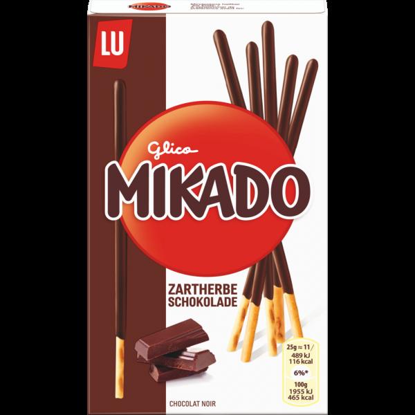 Mikado Sticks zartherbe Schokolade 75g