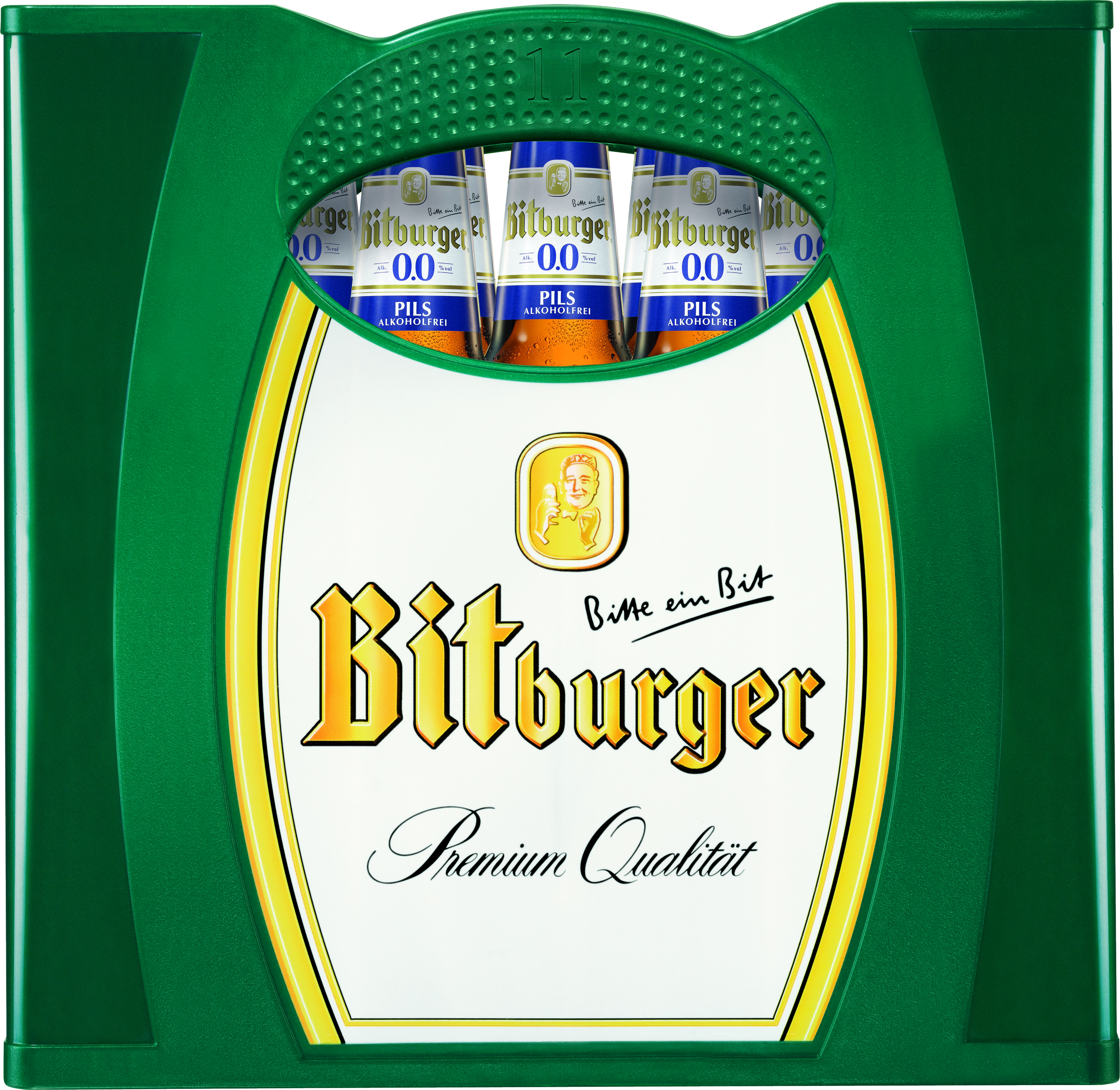 Bitburger Alkfrei 11er Kasten