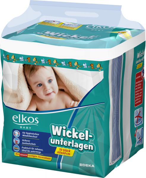 Elkos Wickelunterlage, 10er