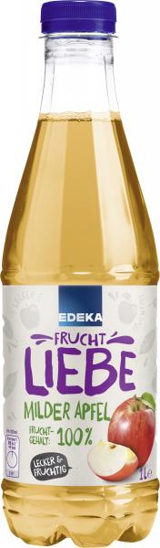Edeka Fruchtliebe Milder Apfel, 1 L