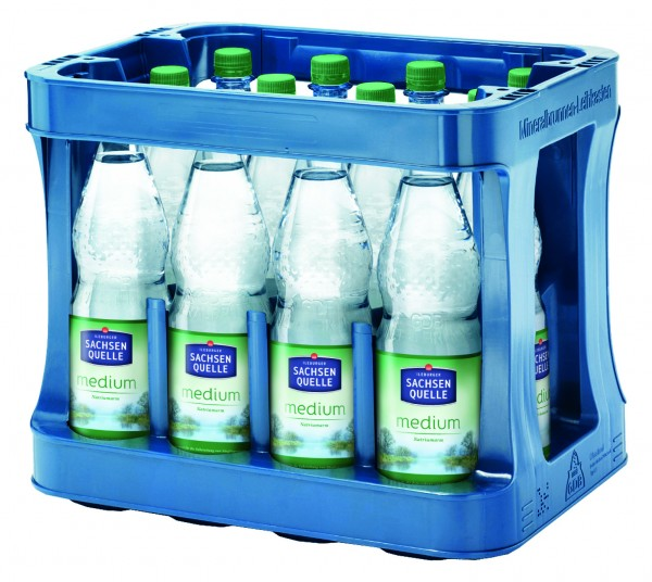 Ileburger Sachsenquelle Medium 12x1L